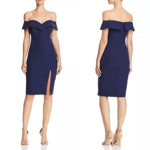 Bardot Bella Off-The-Shoulder Cocktail Dress